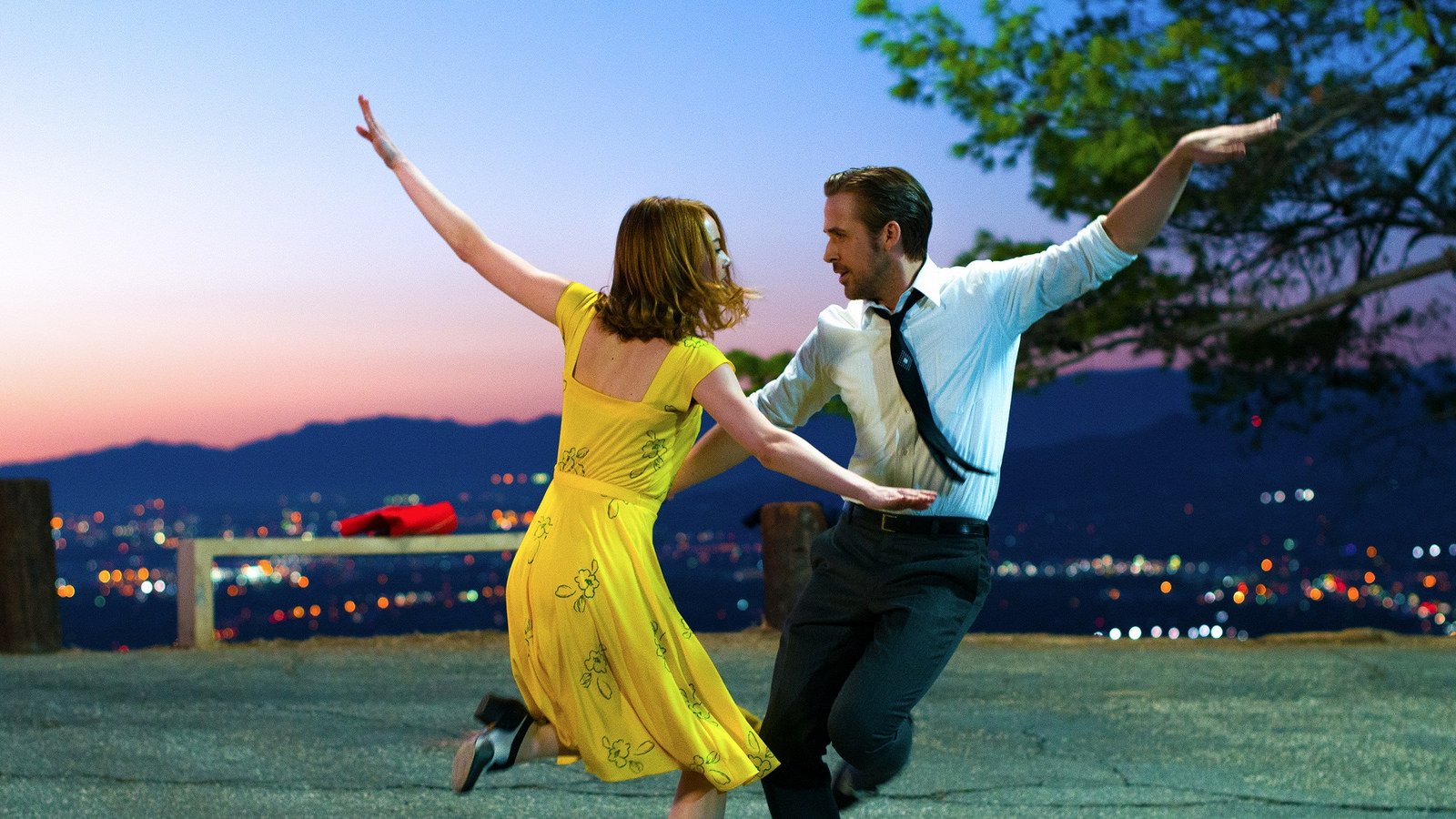 Emma Stone-Ryan Gosling La La Land